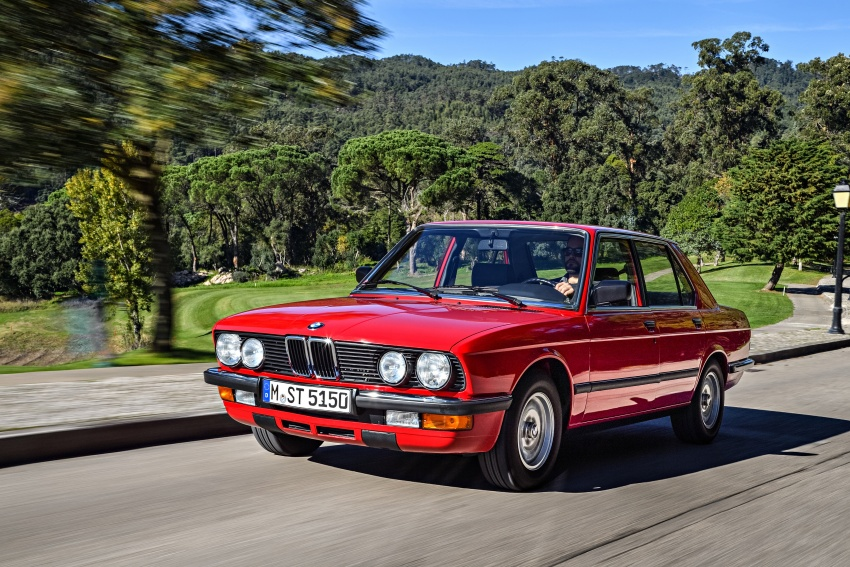 BMW 5 Series – a look back through the generations Image #636126