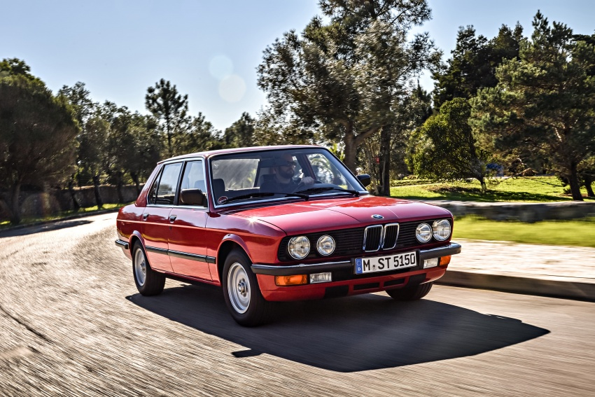 BMW 5 Series – a look back through the generations Image #636127