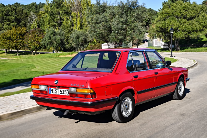BMW 5 Series – a look back through the generations Image #636128