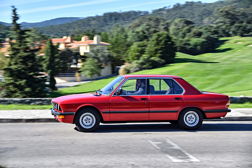 BMW 5 Series – a look back through the generations Image #636129