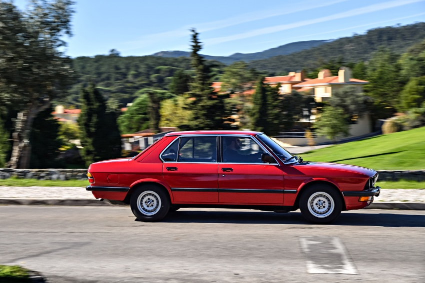 BMW 5 Series – a look back through the generations Image #636130