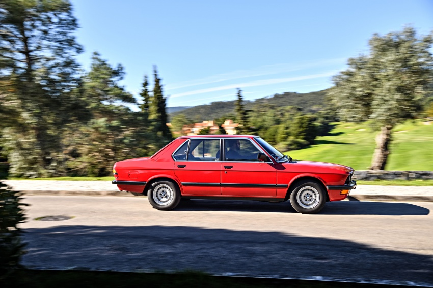 BMW 5 Series – a look back through the generations Image #636133