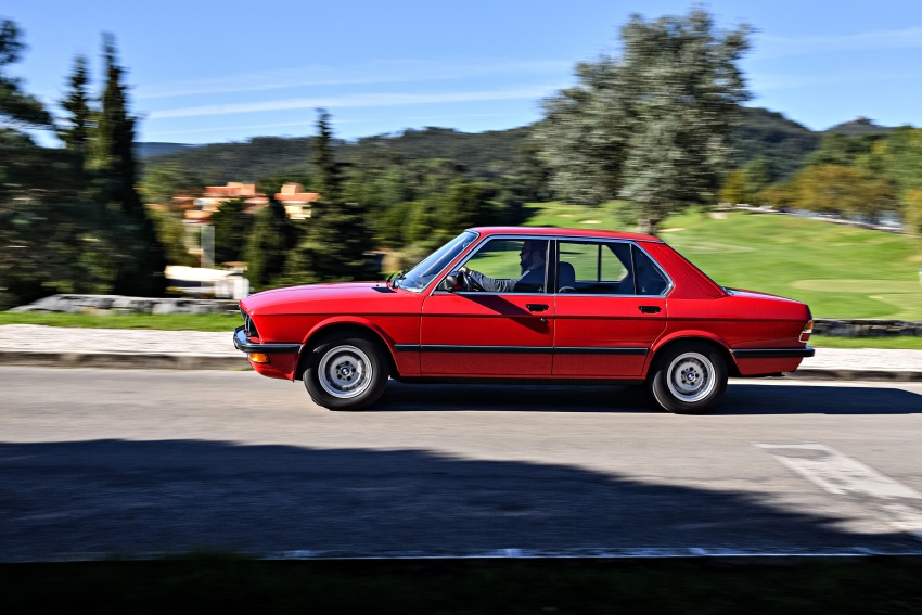 BMW 5 Series – a look back through the generations Image #636134