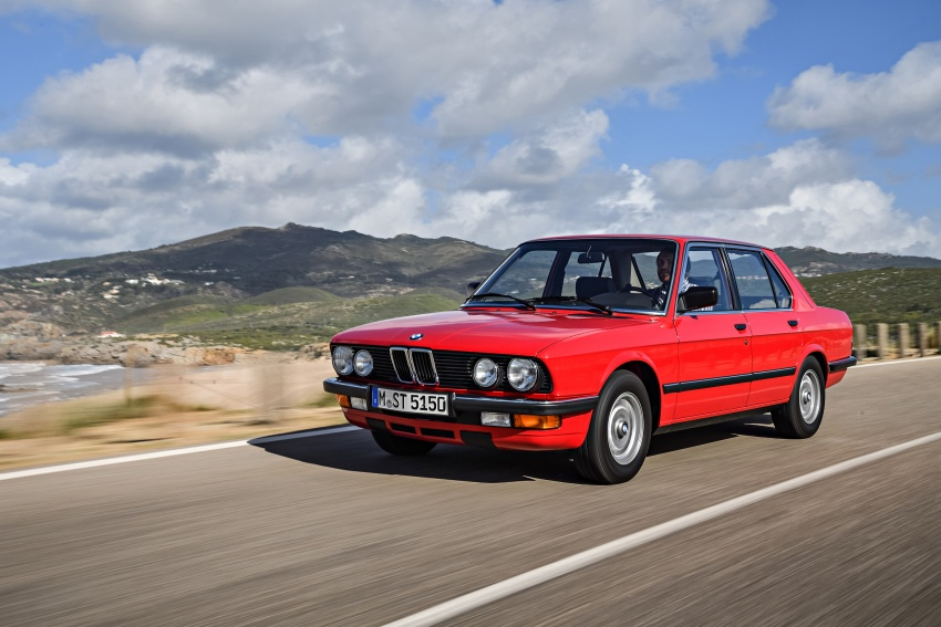 BMW 5 Series – a look back through the generations Image #636135