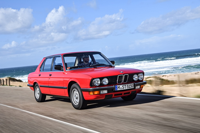 BMW 5 Series – a look back through the generations Image #636136