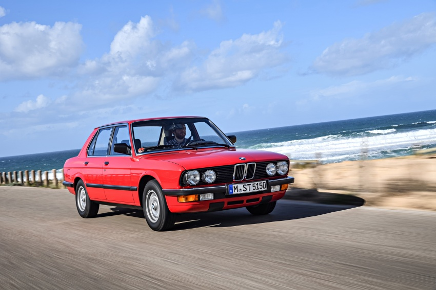 BMW 5 Series – a look back through the generations Image #636137