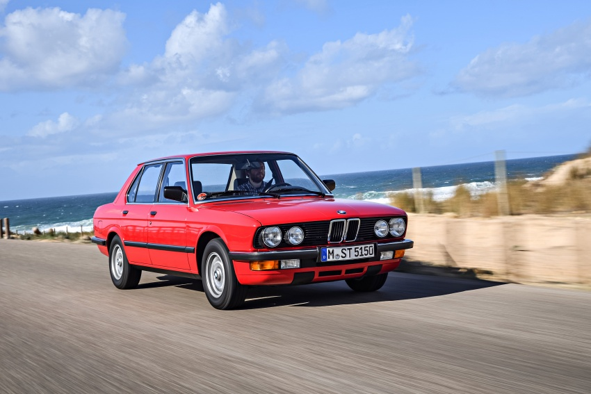 BMW 5 Series – a look back through the generations Image #636138