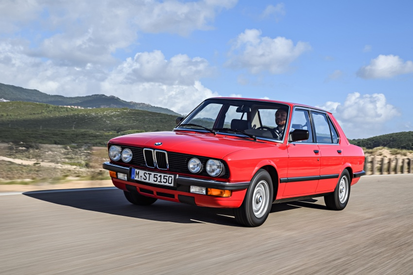 BMW 5 Series – a look back through the generations Image #636139