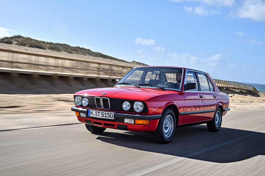 BMW 5 Series – a look back through the generations Image #636141