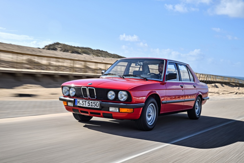 BMW 5 Series – a look back through the generations Image #636142