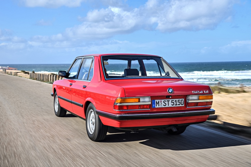 BMW 5 Series – a look back through the generations Image #636143