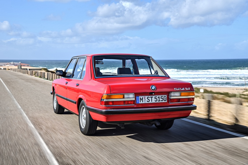 BMW 5 Series – a look back through the generations Image #636144