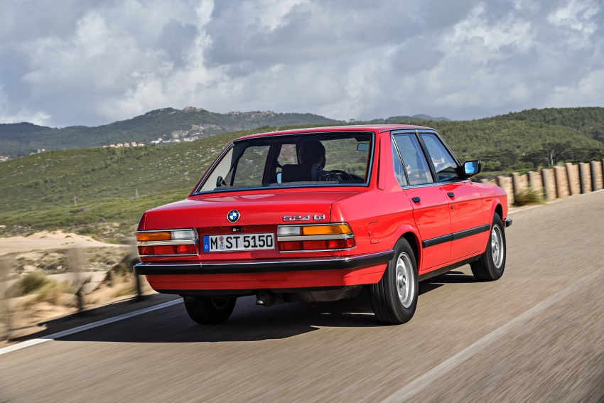 BMW 5 Series – a look back through the generations Image #636192