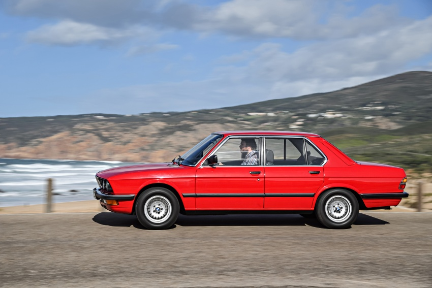 BMW 5 Series – a look back through the generations Image #636197
