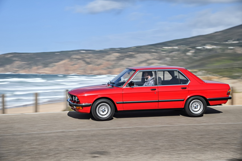 BMW 5 Series – a look back through the generations Image #636210