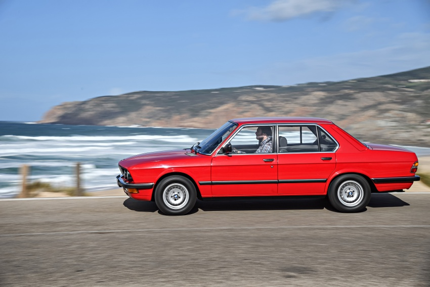 BMW 5 Series – a look back through the generations Image #636212