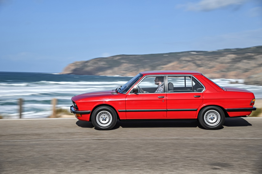 BMW 5 Series – a look back through the generations Image #636214