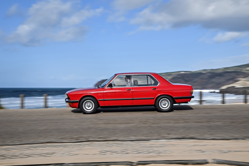 BMW 5 Series – a look back through the generations Image #636223