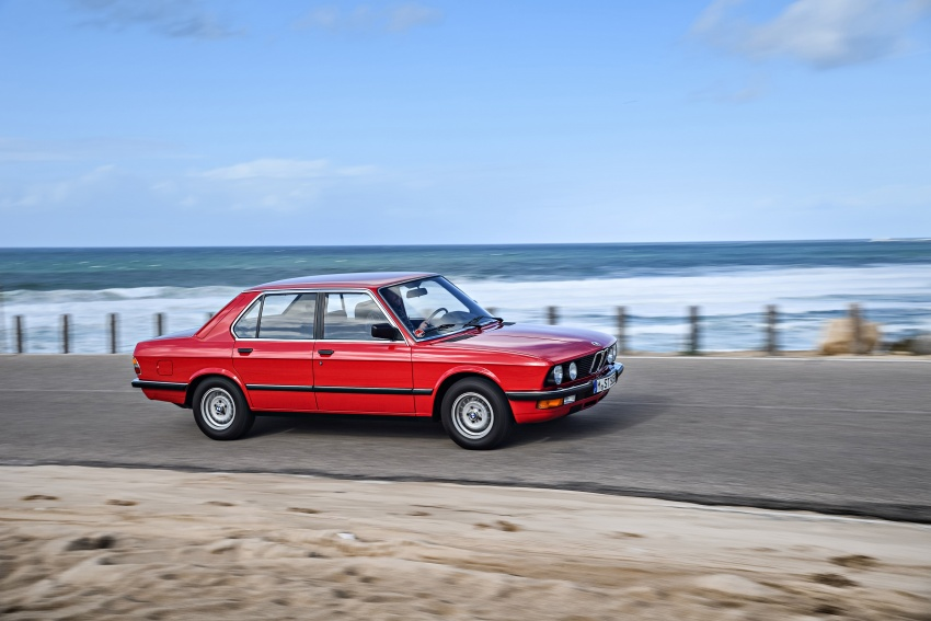 BMW 5 Series – a look back through the generations Image #636229
