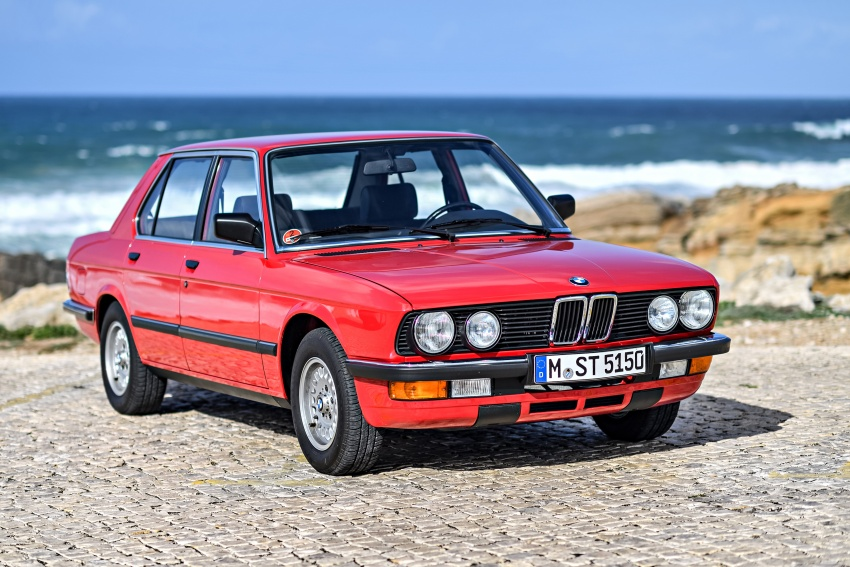 BMW 5 Series – a look back through the generations Image #636260