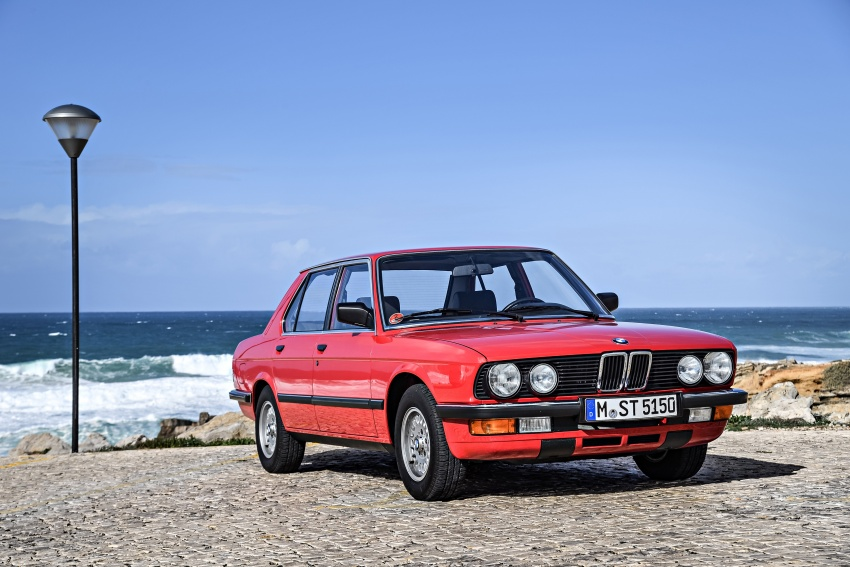 BMW 5 Series – a look back through the generations Image #636590