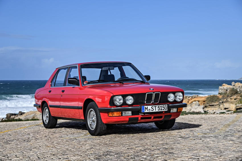 BMW 5 Series – a look back through the generations Image #636591