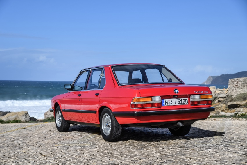 BMW 5 Series – a look back through the generations Image #636594