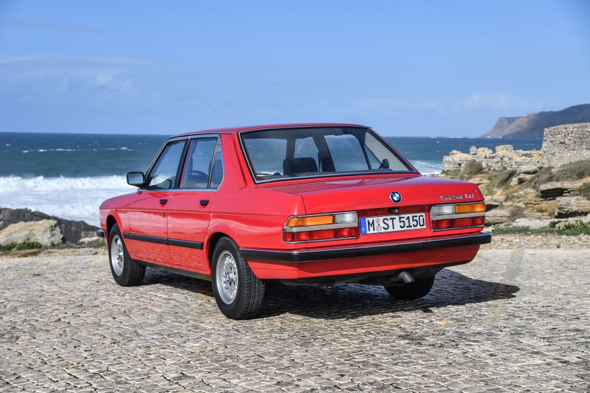 BMW 5 Series – a look back through the generations Image #636595