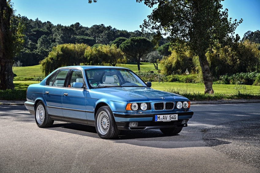 BMW 5 Series – a look back through the generations Image #636868