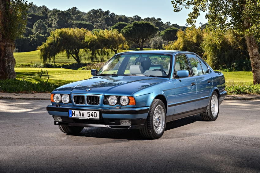 BMW 5 Series – a look back through the generations Image #636869