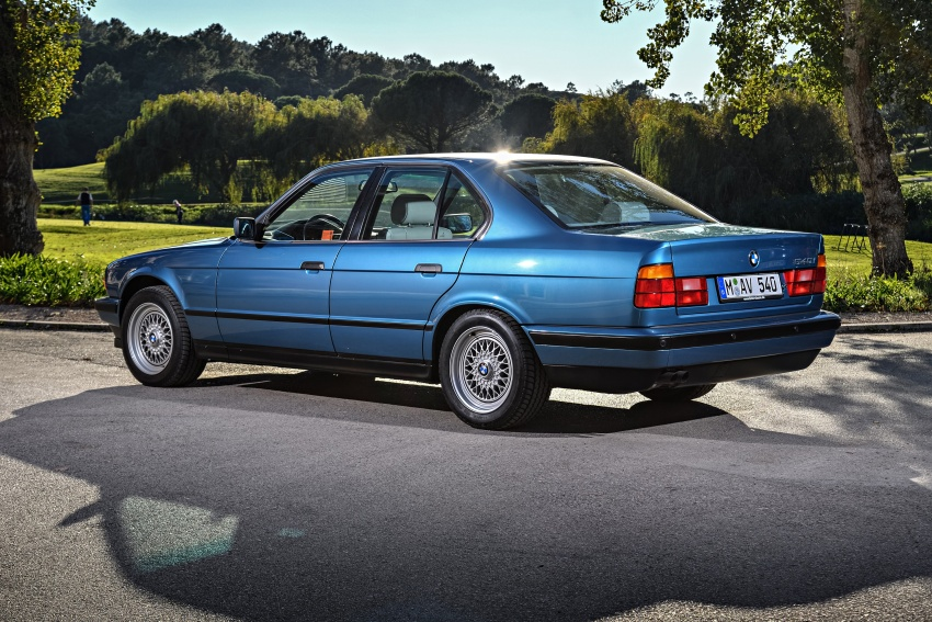 BMW 5 Series – a look back through the generations Image #636877