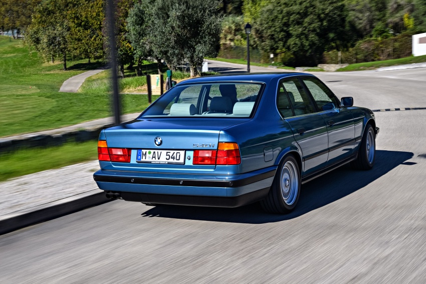 BMW 5 Series – a look back through the generations Image #636894