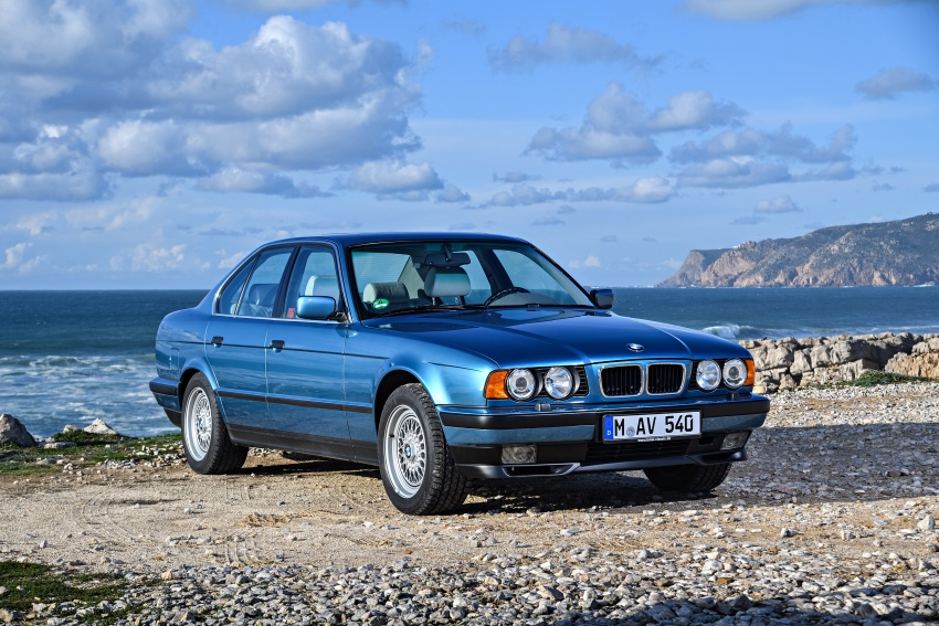 BMW 5 Series – a look back through the generations Image #636904