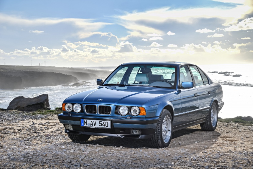 BMW 5 Series – a look back through the generations Image #636908