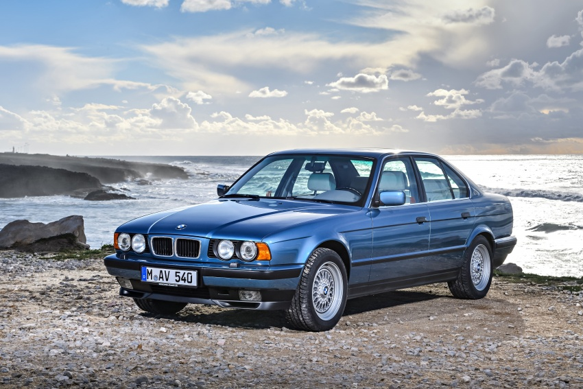 BMW 5 Series – a look back through the generations Image #636909