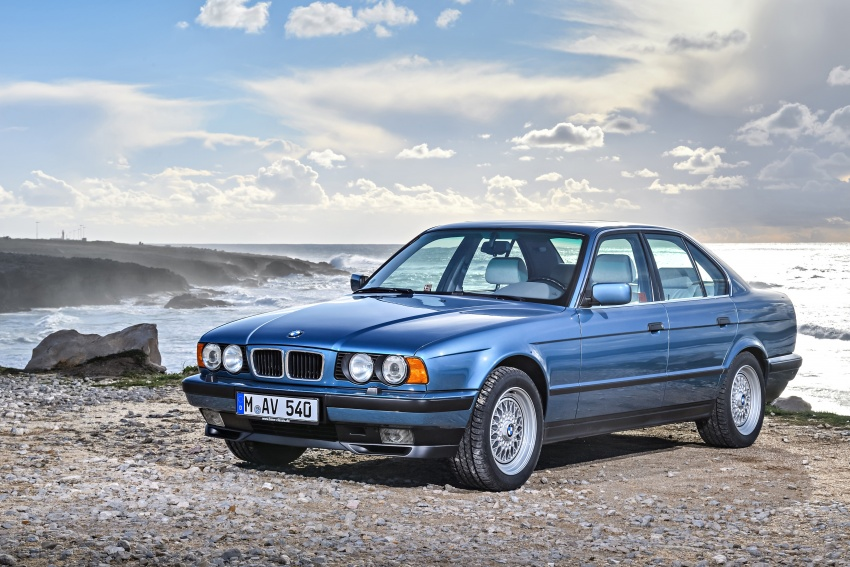 BMW 5 Series – a look back through the generations Image #636910