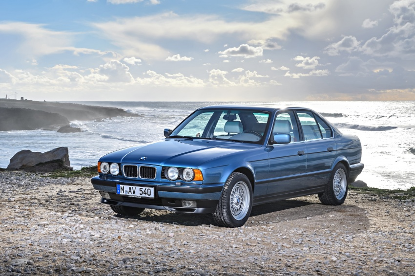 BMW 5 Series – a look back through the generations Image #636912