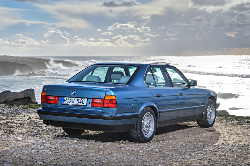 BMW 5 Series – a look back through the generations Image #636914