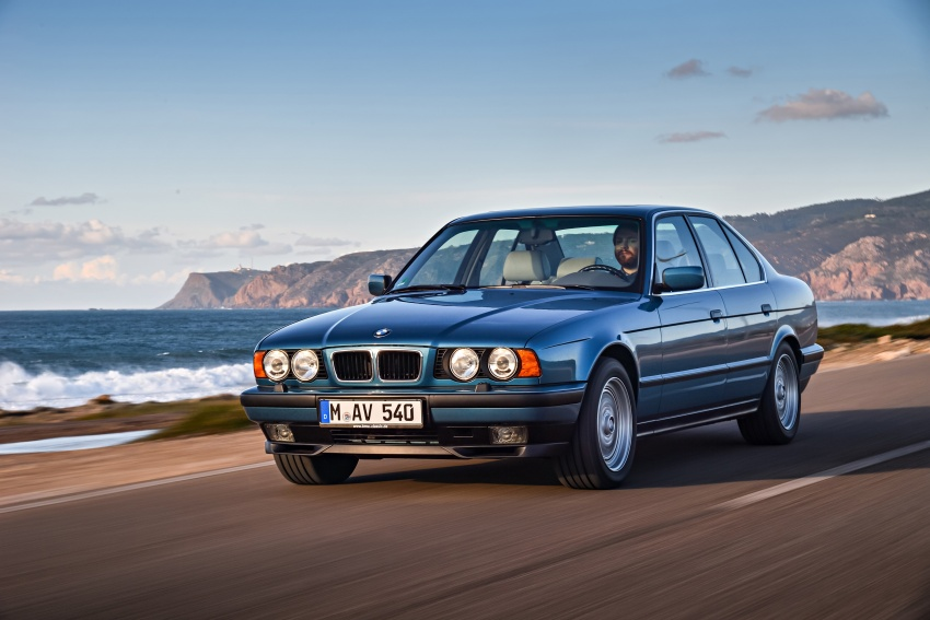 BMW 5 Series – a look back through the generations Image #636915