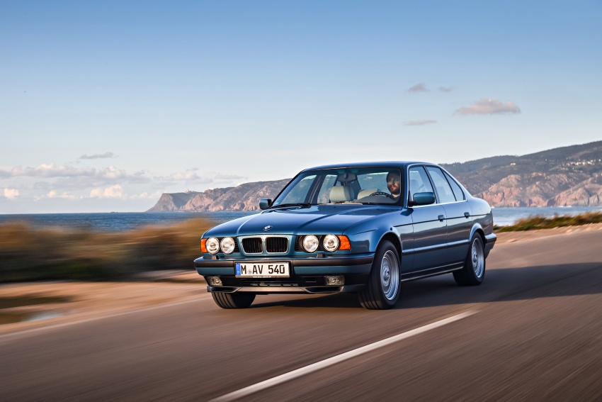 BMW 5 Series – a look back through the generations Image #636916