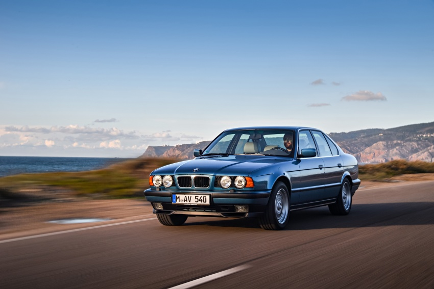 BMW 5 Series – a look back through the generations Image #636917