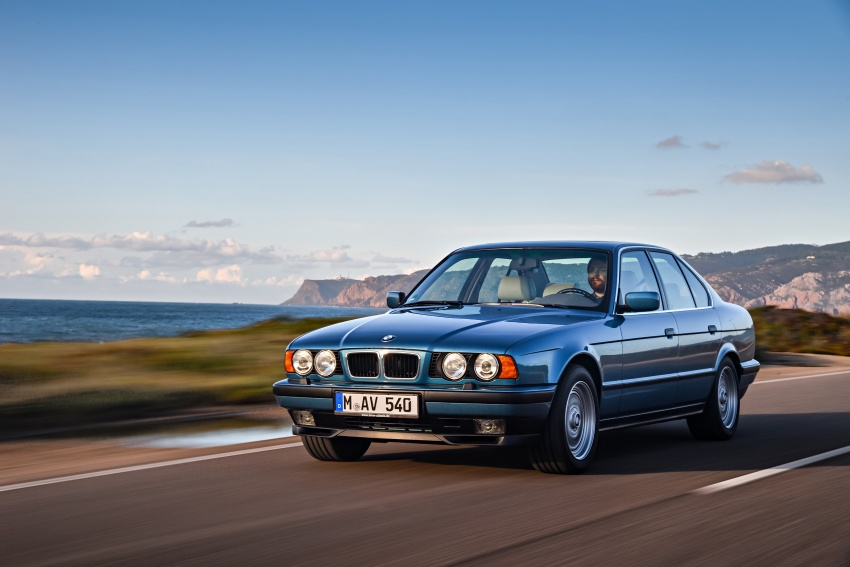 BMW 5 Series – a look back through the generations Image #636918