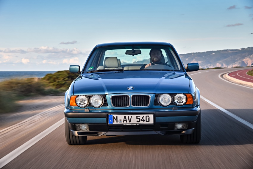 BMW 5 Series – a look back through the generations Image #636919
