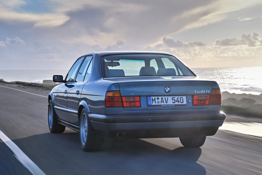 BMW 5 Series – a look back through the generations Image #636920
