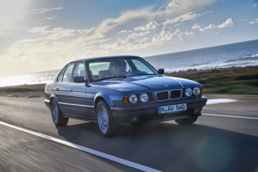 BMW 5 Series – a look back through the generations Image #636922
