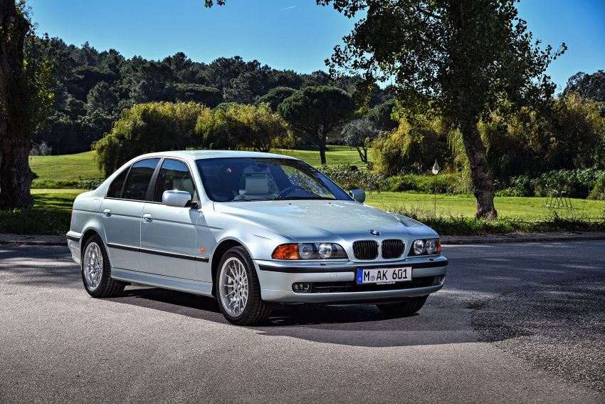 BMW 5 Series – a look back through the generations Image #636932