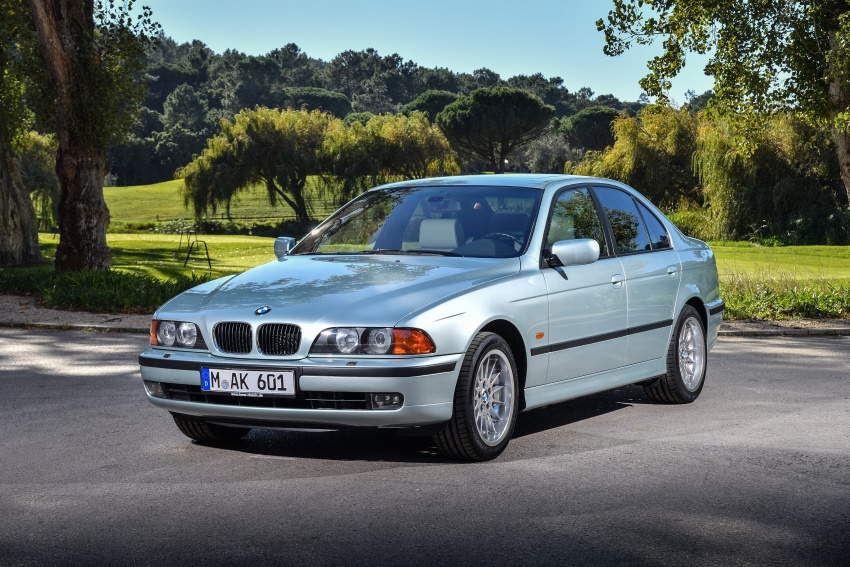 BMW 5 Series – a look back through the generations Image #636933