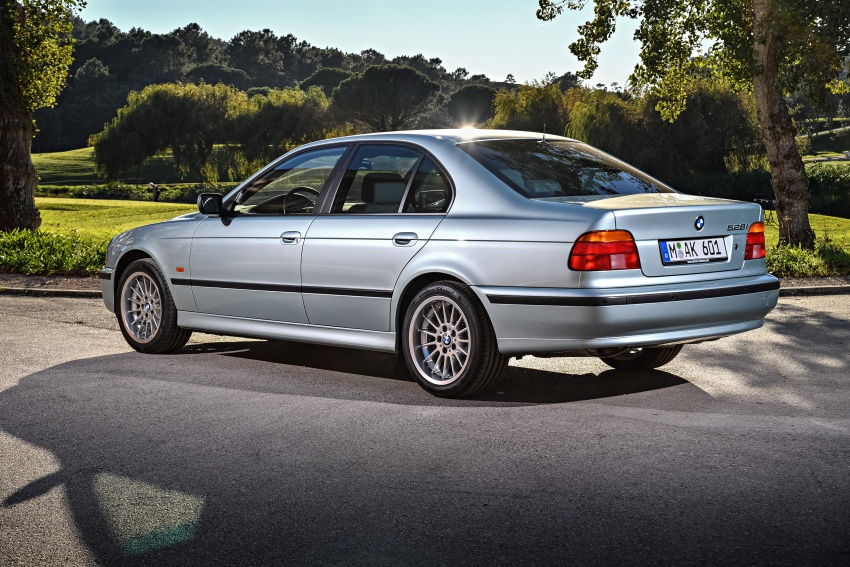 BMW 5 Series – a look back through the generations Image #636939