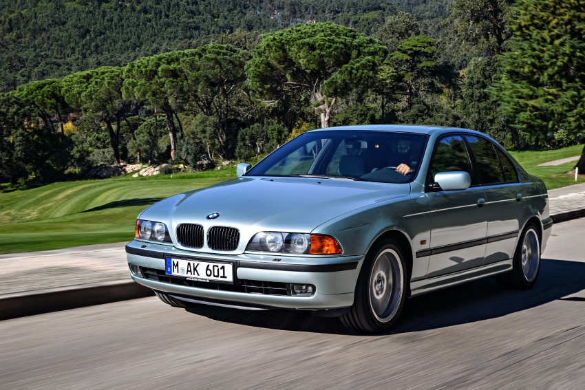 BMW 5 Series – a look back through the generations Image #636953