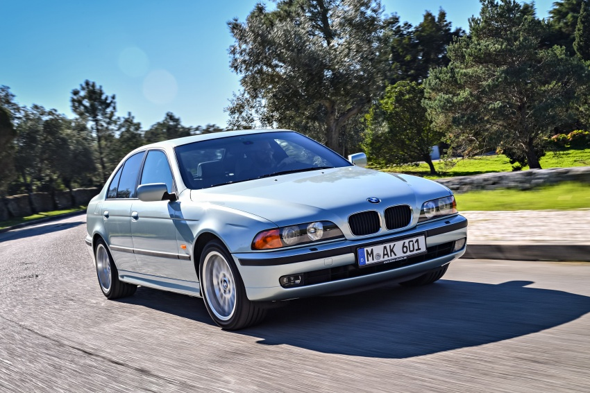 BMW 5 Series – a look back through the generations Image #636954